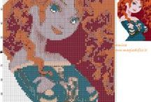 Top Patterns of english site / The top viewed cross stitch patterns of english site  http://www.my-cross-stitch-patterns.com