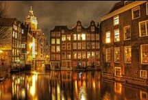 Amsterdam, Then and Now ! / by Hollandaise