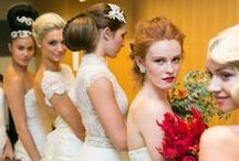 Bridal Love / We love all things bridal, the glamorous hair, stunning makeup and getting creative with your special day.  #salonmelbourne #bridal #education #love
