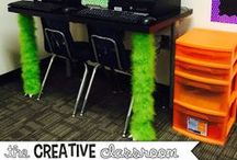 Classroom Decor / Teachers spend more time in their classrooms than they do at home.  It is important that teachers take time to decorate their classroom so they feel at home!  Here you will find resources, ideas and more to help decorate your classroom and bring joy to your students!