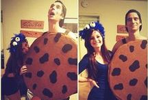 Couples Halloween Costumes / We LOVE Halloween! Check out some of our favorite couple's costumes for 2014!