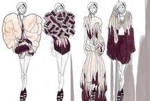 #fashiondraw / #Fashion #drawing #sketch #inspiration #illustration #art #design