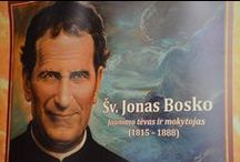"⛪ ""San John Bosco, Domenico Savio and Blessed Laura Vicuňa"" / "".•°*°•.❀.•°*°•.♥ ٠•●♥❤…♪♫ •°*°•.❀.•°*°•."" / by 🐦✨ Irena Ka ✨"