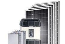 Solaranlagen AC und DC - Solar power plants AC - DC / Solaranlagen für den Betrieb von AC oder DC Verbrauchern - Solar systems for the operation of AC or DC loads