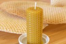 Bougies et Cire d'abeille