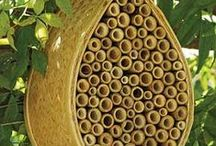 Habitat des abeilles / Pour les abeilles sauvages et autres insectes auxiliaires