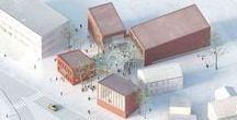 1.Maquettes / Models / Maquettes d'architecture, d'urbanisme et de paysage