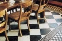 Painted floors / by Peggy Norfleet