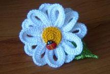 Crochet Flowers, Kwiatki