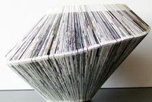 ALTERED FOLDED CUT PAINTED ( books ) / by Ramon Castell