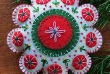 CHRISTMAS / beautiful xmas ornaments and other things about it.