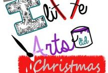 Christmas All Wrapped Up / Festive, gift ideas, home made, recycled, wrapping paper, cards, gift cards, bows, decorations and much much more!  / by Iliffe Arts Ltd