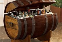 Barrel Furniture  / Furniture made out of Spirit and Wine Barrels