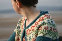 Fair isle and nordic knitting / knitting in fair isle and nordic style