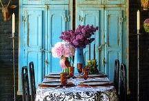 Turquoise interiors
