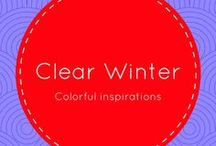 Clear Winter / Clear Winter Color Palette