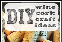 Corks / Cork crafty ideas