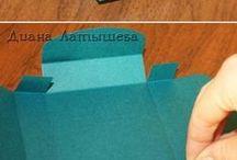 DIY - krabičky a obaly / návody na výrobu krabiček a obalů