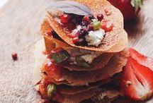 Déjeuner sain / Healthy lunch / Idées de recette pour un repas sain, équilibré et savoureux