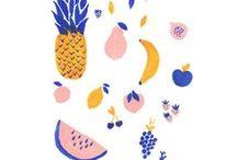 Illustrations culinaires / Food related artworks / De dessins et oeuvres d'arts liés à la cuisine / Illustrations and other artworks with food as their main theme