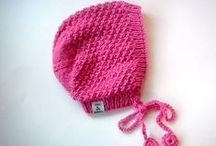 Knit for kids 4:  hats, bonnets, mittens