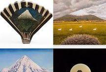 The Taranaki Gallery / Mt Taranaki as it has appeared in work by Gallery artists