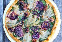 Tartes aux légumes / Veggie pies