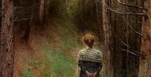 Bertha Wegman, 1846 - 1926 / Danish portrait painter of German ancestery.