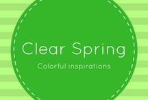 Clear Spring / Clear Spring Color Palette