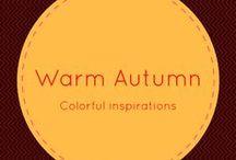 Warm Autumn / Warm Autumn Color Palette
