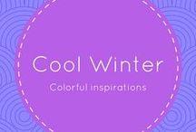 Cool Winter / Cool Winter Color Palette