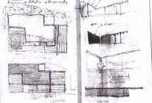 Architecture : esquisses & croquis