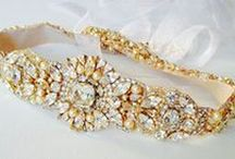 Pretty Sashes & Belts / Sashes and belts to add to wedding gowns