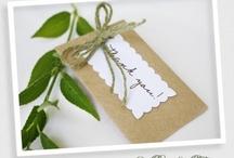 Eco Weddings / Ideas to help you create an eco friendly wedding