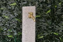 Fontanelle linea essenziale marmo ricostruito
