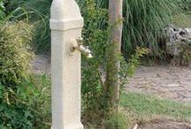 Fontanelle linea essenziale pietra ricostruita