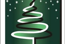 Kartki świąteczne BPŁ (Christmas cards) / Kartki świąteczne Biblioteki Politechniki Łódzkiej (Christmas cards sent by the Library of the Lodz University of Technology)