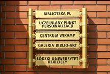Budynek BPŁ (Library's building) / Budynek Biblioteki przy ul. Wólczańskiej 223 (The Library of the Lodz University of Technology building located on 223 Wolczanska Street)