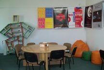 Wnętrza BPŁ (Inside the library) / Wnętrza Biblioteki Politechniki Łódzkiej (Inside the Library of the Lodz University of Technology)