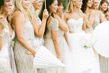 Bridesmaids / Bridesmaids' dresses / by Castlefield Bridal Company & Branding Atelier by Sophie Taylor