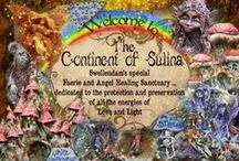 """"""" THE CONTINENT OF SULINA """" / LOVINGLY KNOWN AS """" THE FAERIE SANCTUARY """".... IS SWELLENDAM'S SPECIAL FAERIE AND ANGEL SANCTUARY , A PLACE OF UPLIFTMENT , AND CHILDREN'S MAGICAL PLAY GARDEN AND PARTY PLACE"""