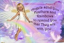 """ANGEL INSPIRATIONS / THESE ARE SOME CARDS CREATED FOR MY """" ANGEL BLESSINGS CYBER HOME """" .  YOU CAN SEE MORE HERE.... http://faerienufangelblessings.blogspot.com/ AND FOR CHILDREN HERE ... ... http://angels4children.blogspot.com/ MAY THEY INSPIRE AND UPLIFT YOU , WHEN THOSE DARK CLOUDS TRY TO HIDE AWAY THE RAINBOWS AND LIGHT . WE LOVE TO SHARE .... YOU MAY PRINT THESE CARDS FOR PERSONAL USE AND TO SHARE WITH LOVED ONES... THANK YOU FOR NOT USING THEM COMMERCIALLY OR FOR FINANCIAL GAIN ."""