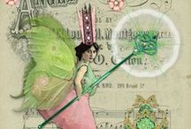 ALTERED ART INSPIRATIONS / I JUST LOVE EXPERIENCING THE MAGIC IN TRANSFORMING TRASH INTO TREASURES. THANK YOU TO ALL WHO SHARE THESE BEAUTIFUL INSPIRATIONS ...RECEIVED WITH LOTS OF LOVE AND GRATITUDE .