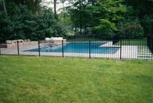 Swimming Pool Fences / Swimming pool fences installed by A. Anastasio Fence Company, serving Fairfield County, CT.