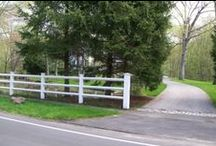 Post and Rail Fences / Post and Rail Fences installed by A. Anastasio Fence Company, serving Fairfield County, CT.