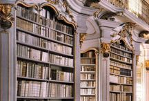 Libraries & Bookstores / Because books are a beautiful thing. :)