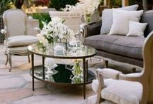 Gardens, Courtyards, Patios, Balconies, Terraces, Yards, Landscaping - Outdoor Spaces / Outdoor spaces, home, architecture, décor, flowers, gardening / by Castlefield Bridal Company & Branding Atelier by Sophie Taylor