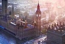 London and UK / Cityscapes and landscapes in the UK