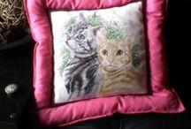 ♥My works: Dogs & Cats design 2014♥ / Oggettistica con cani e gatti