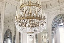 Shimmering Chandeliers